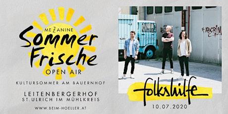 Folkshilfe | Mezzanine Sommerfrische Open Air Tickets
