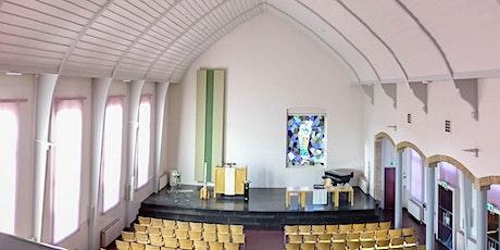 Doop kerkdienst wijk B ochtend 23 augustus tickets