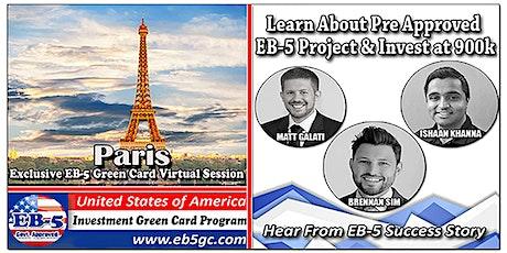 Paris EB-5 American Green Card Virtual Market Series tickets