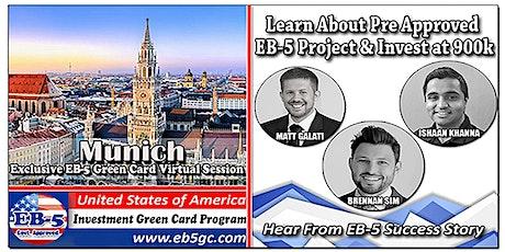 Munich EB-5 American Green Card Virtual Market Series Tickets