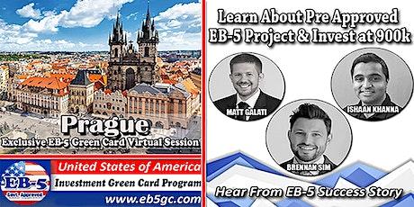 Prague EB-5 American Green Card Virtual Market Series tickets