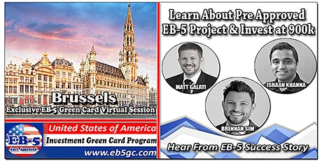 Brussels EB-5 American Green Card Virtual Market Series tickets
