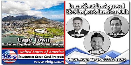 Cape Town EB-5 American Green Card Virtual Market Series tickets