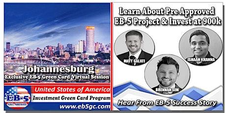 Johannesburg EB-5 American Green Card Virtual Market Series tickets