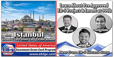 Istanbul  EB-5 American Green Card Virtual Market Series tickets