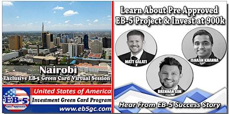 Nairobi EB-5 American Green Card Virtual Market Series tickets