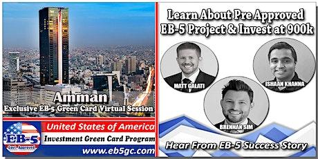 Amman EB-5 American Green Card Virtual Market Series tickets
