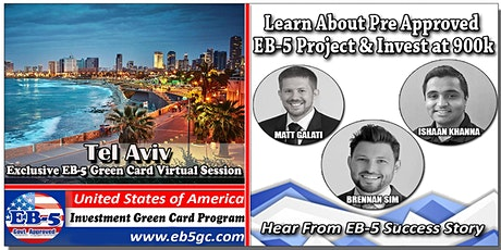 Tel Aviv EB-5 American Green Card Virtual Market Series tickets