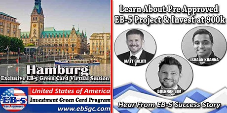 Hamburg EB-5 American Green Card Virtual Market Series tickets