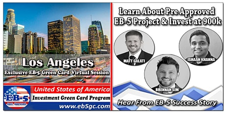 Los Angeles EB-5 American Green Card Virtual Market Series tickets