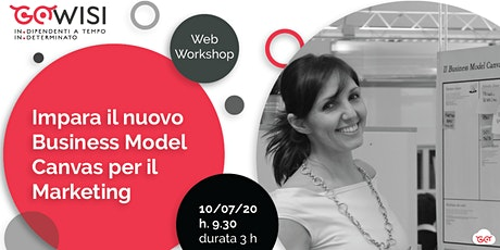 Impara il nuovo Business Model Canvas per il Marketing biglietti