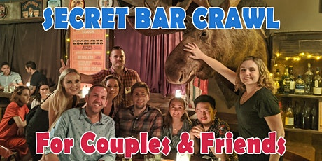 Darlinghurst & Surry Hills Secret Bar Crawl for Couples & Friends tickets