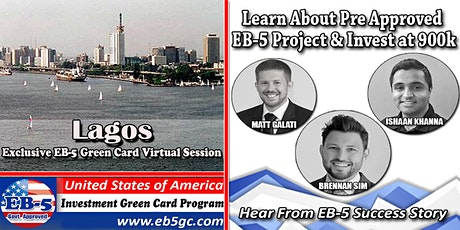 Lagos EB-5 American Green Card Virtual Market Series tickets