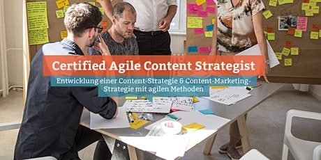 Certified Agile Content Strategist, Online Tickets