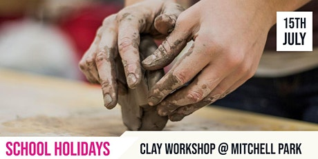 SCHOOL HOLIDAYS | Get down and dirty with Clay - NEW TIME RELEASED tickets