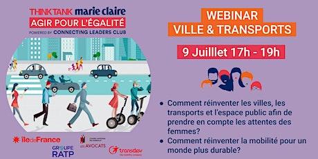 Think Tank Agir pour l'Egalité | WEBINAR Ville & Transports billets