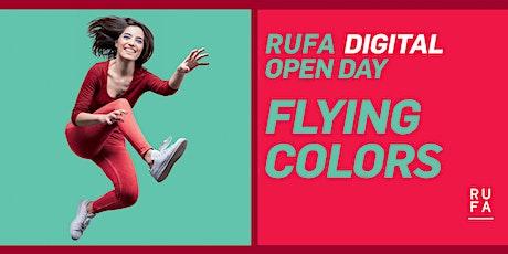 RUFA Digital Open Day   19 settembre 2020 biglietti