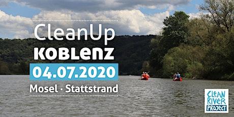 CleanUp Winningen - Koblenz Stattstrand Tickets