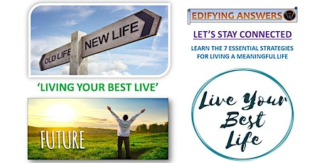 Living Your Best Life Webinar Series tickets