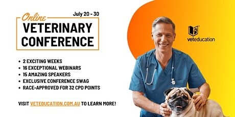 Online Veterinary Conference tickets