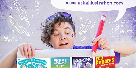 School Holiday Activity: Illustrating with Aśka tickets