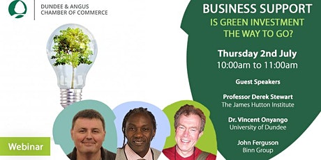Covid-19 business recovery: Green investment is the way to go tickets