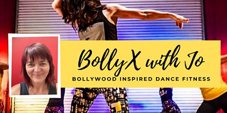 Copy of BollyX with Jo - Live Zoom class tickets