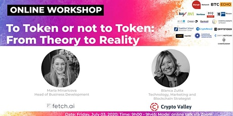 To Token or not to Token: From Theory to Reality (Online Workshop) tickets