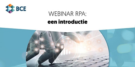 Webinar: RPA - een introductie tickets