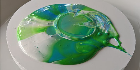 Acrylic Paint Pouring - 4th July Saturday Afternoon tickets