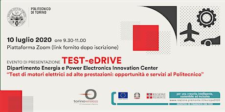 Test di motori elettrici: opportunità e servizi al Politecnico biglietti