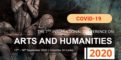 7th International Conference on Arts and Humanities 2020 – (ICOAH 2020) tickets