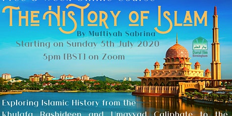 The History of Islam tickets