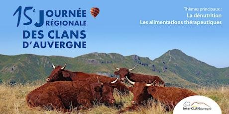 15ème journée régionale des clans d'Auvergne IL billets