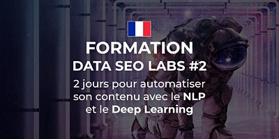 DATA SEO LABS – Niveau 2 – Paris (2 jours)