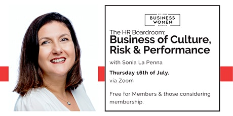 The HR Boardroom: Business of Culture, Risk & Performance tickets