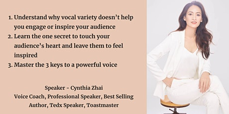 Live Event -Develop your powerful voice to engage and inspire tickets