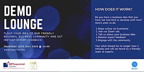 Demo Lounge Online - July tickets