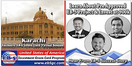 Karachi  EB-5 American Green Card Virtual Market Series tickets