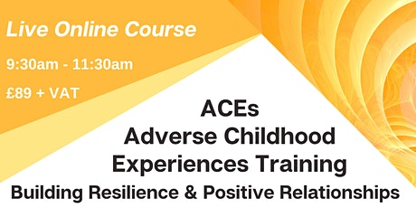 ACEs Adverse Childhood Experiences Training tickets