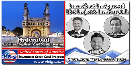 Hyderabad  EB-5 American Green Card Virtual Market Series tickets