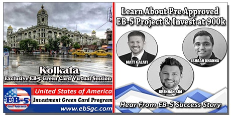 Kolkata  EB-5 American Green Card Virtual Market Series tickets