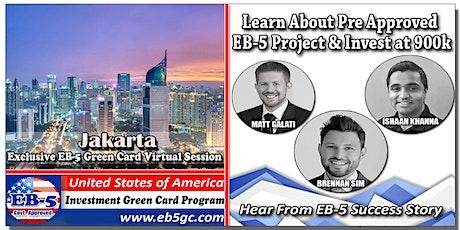 Jakarta  EB-5 American Green Card Virtual Market Series tickets