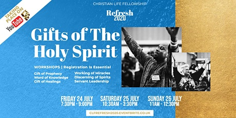 REFRESH 2020 - 'Gifts of The Holy Spirit' tickets