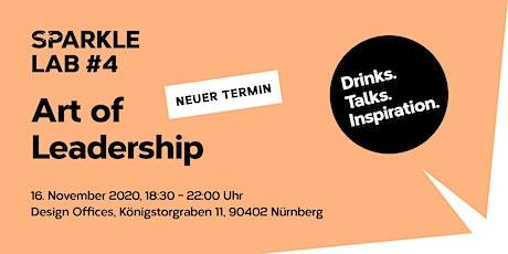 SPARKLE LAB #4: Art of Leadership-Drinks. Talks. Inspiration. Tickets