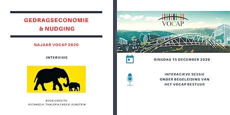VOCAP Reeks Gedragseconomie & Nudging | Deel 4: Intervisie tickets