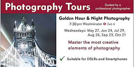 Golden Hour & Blue Hour Photography tickets