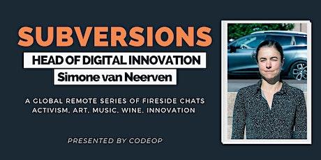 SubVersions Series #1: Digital Innovation tickets