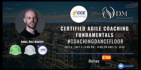 Certified Agile Coaching Fundamentals #CoachingDancefloor entradas
