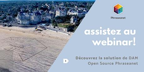 Seminaire en ligne Phraseanet, Mardi 21 Juillet 2020 billets